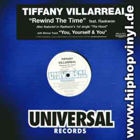 Tiffany Villarreal - Rewind the time feat. Raekwon