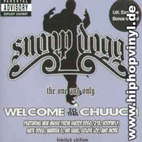 Snoop Dogg - Welcome to tha chuuch - the one and only