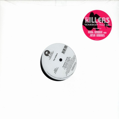 Killers, The - Somebody told me remixes