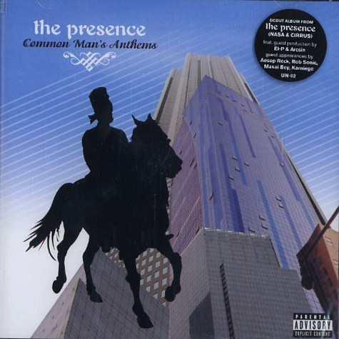 Presence, The - Common Man's Anthems
