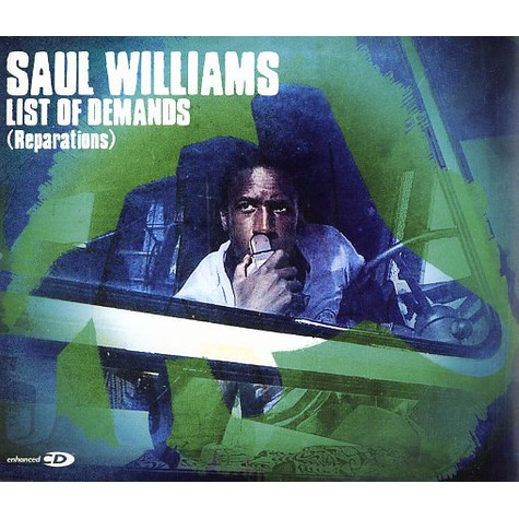 Saul Williams - List of demands (reparations)