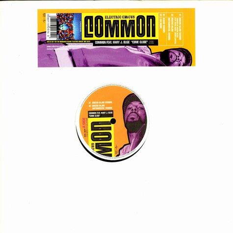 Common - Come close to me feat. Mary J Blige