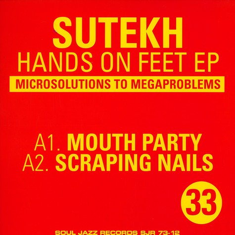 Sutekh - Hands on feet EP