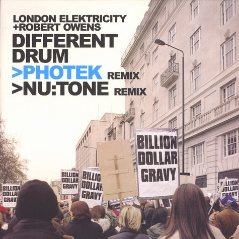 London Elektricity & Robert Owens - Different drum remixes