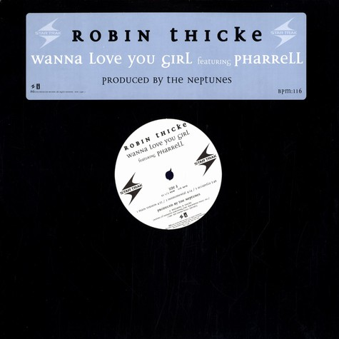 Robin Thicke - Wanna love you girl feat. Pharrell