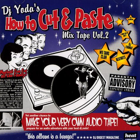 DJ Yoda - How to cut & paste volume 2