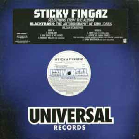 Sticky Fingaz - Blacktrash (selections from the album)
