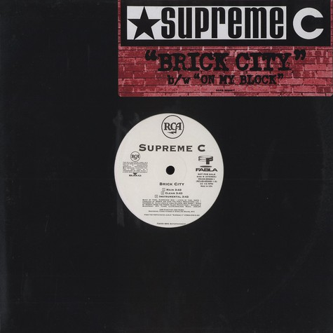 Supreme C - Brick city