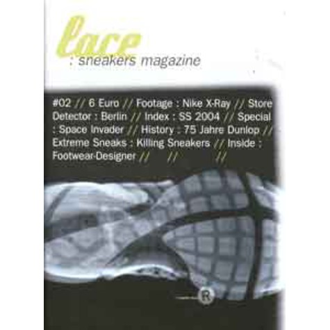 Lace Sneakers Magazine - 2