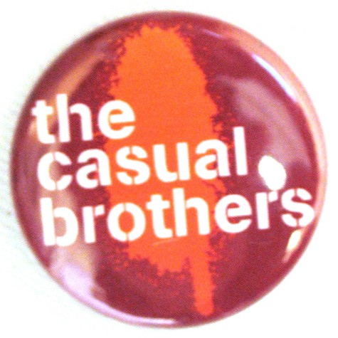 Casual Brothers - Logo button