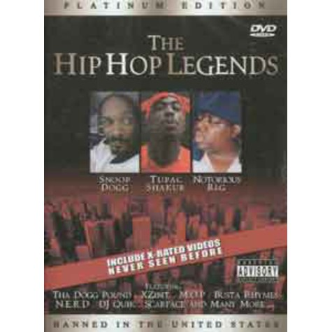 V.A. - Hip hop legends - platinum edition
