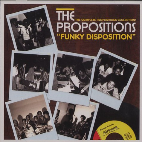 Propositions, The - Funky Disposition