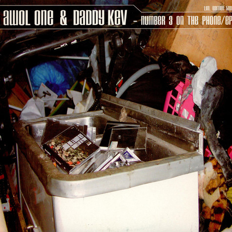 Awol One & Daddy Kev - Number 3 On The Phone EP