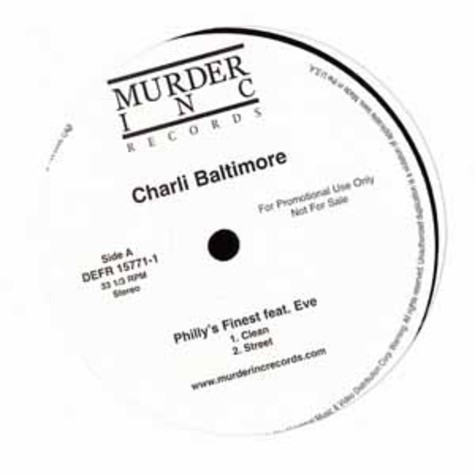 Charli Baltimore - Philly's finest feat. Eve