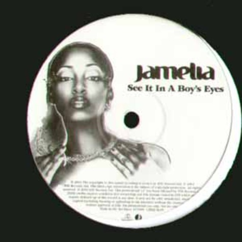 Jamelia - See it in a boys eye