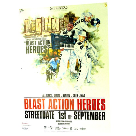 Beginner (Absolute Beginner) - Blast action heroes poster