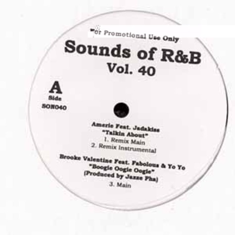 Sounds Of R&B - Volume 40