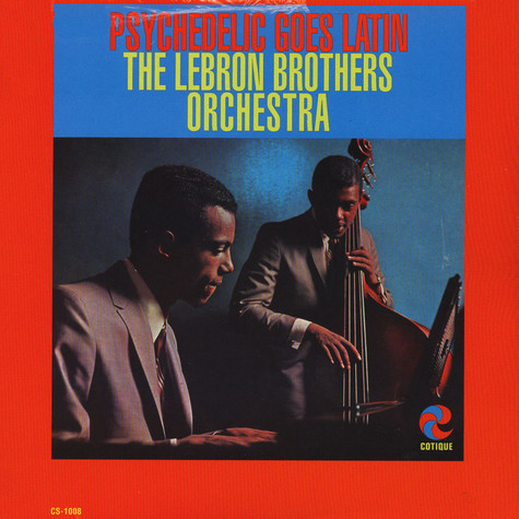 Lebron Brothers Orchestra, The - Psychedelic goes latin