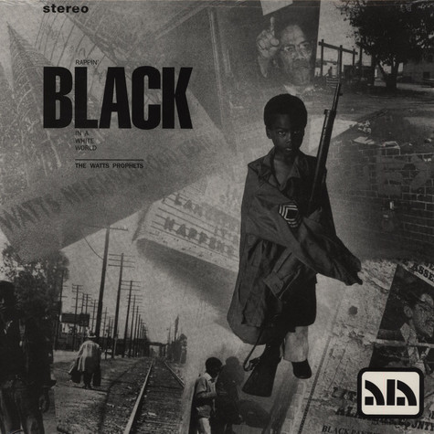 Watts Prophets, The - Rappin black