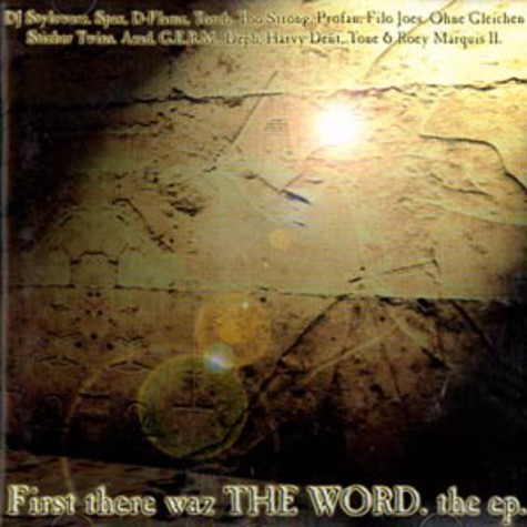 V.A. - First there waz the word EP