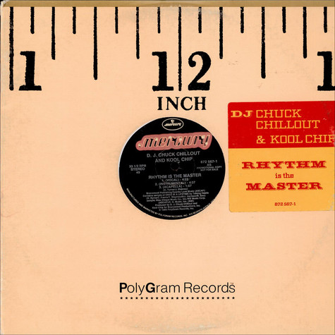 Chuck Chillout & Kool Chip - Rhythm Is The Master