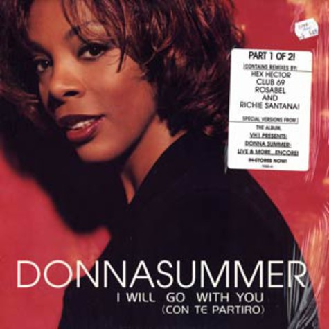 Donna Summer - I Will Go With You (Con Te Partiró)