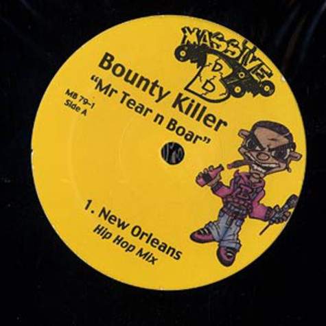 Bounty Killer - Mr. Tear N' Boar (Remixes)