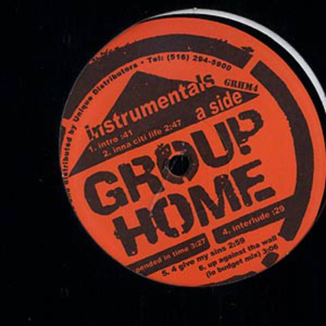 Group Home - Livin proof instrumentals
