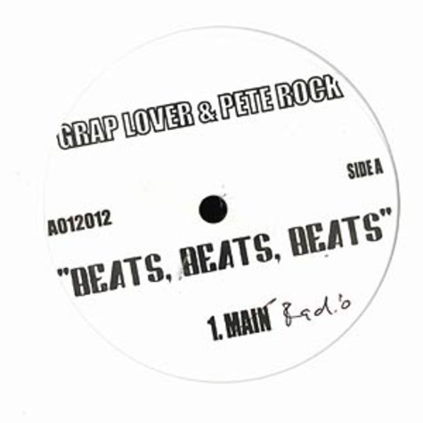 Grap Lover & Pete Rock - Beats beats beats