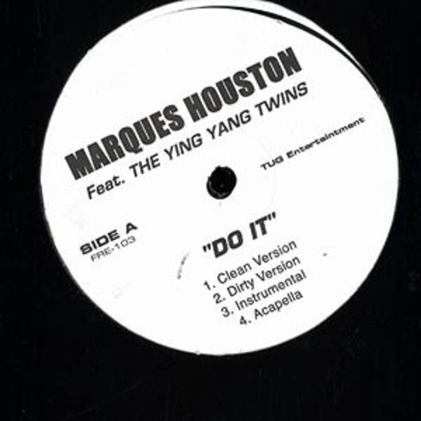 Marques Houston - Do it feat. Ying Yang Twinz