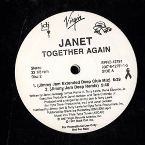 Janet Jackson - Together again remixes