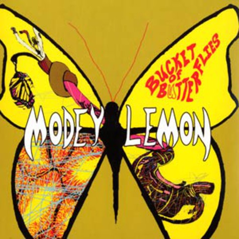 Modey Lemon - Bucket of butterflies
