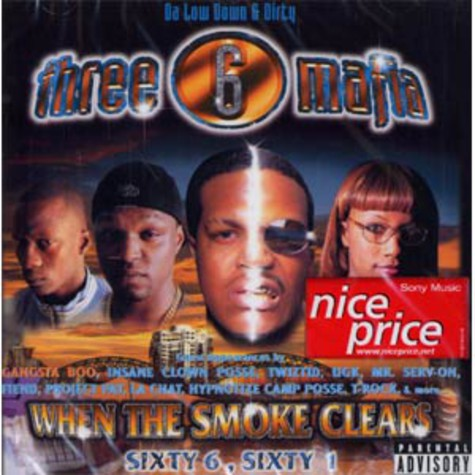 Three 6 Mafia - When the smoke clears