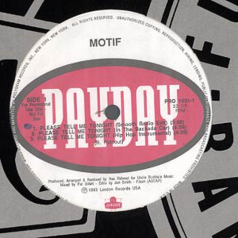 Motif - Please Tell Me Tonight