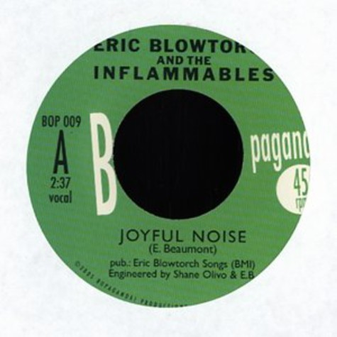 Eric Blowtorch And The Inflammables - Joyful noise