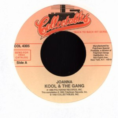Kool & The Gang - Joanna / misled