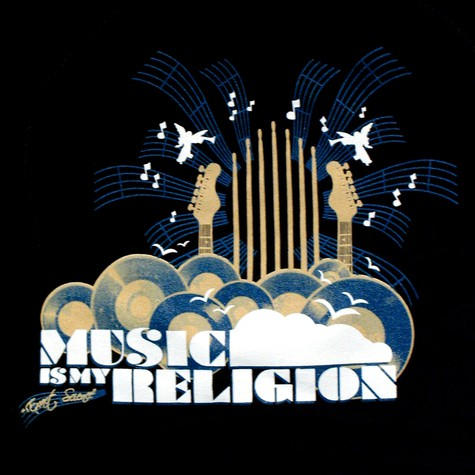 Exact Science - Music is my religion hoodie