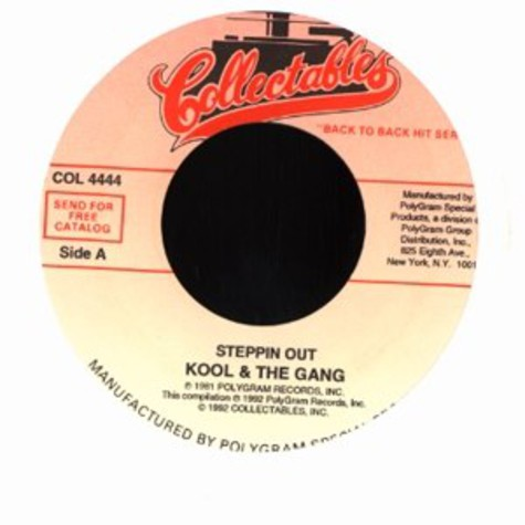 Kool & The Gang - Steppin out