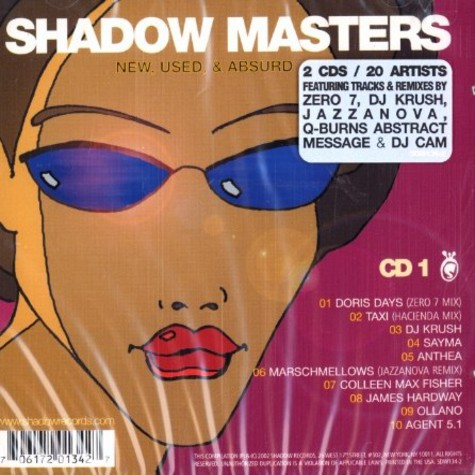 V.A. - Shadow masters - new, used & absurd