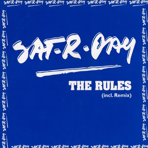 Sat-R-Day - The rules