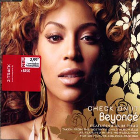 Beyonce - Check on it feat. Slim Thug