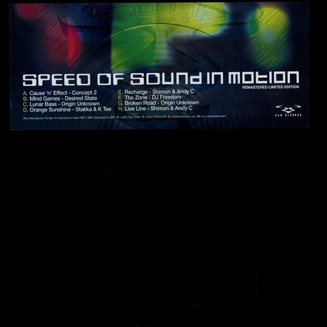 V.A. - Speed of sound in motion