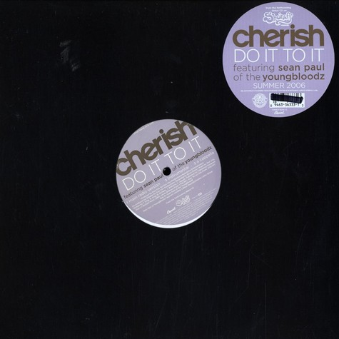 Cherish - Do it to it feat. Sean Paul of Youngbloodz