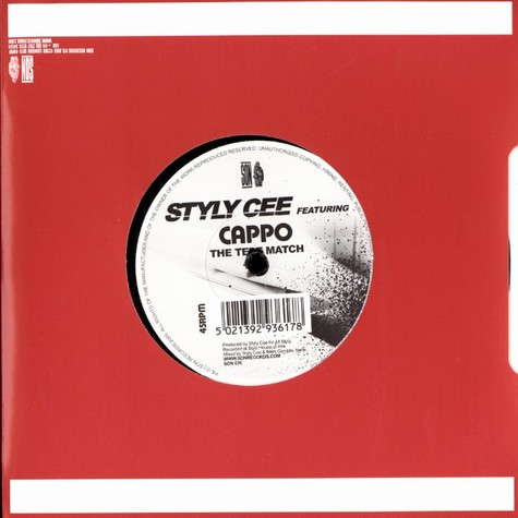 Styly Cee - The test match feat. Cappo