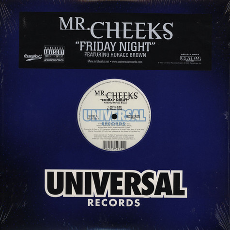 Mr.Cheeks of Lost Boyz - Friday night feat. Horace Brown