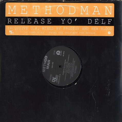 Method Man - Release yo delf UK mixes