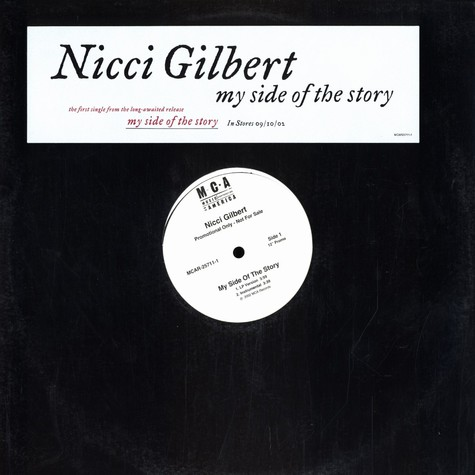 Nicci Gilbert - My side of the story