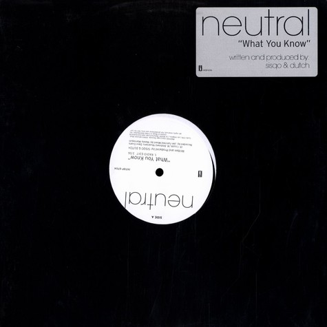 Neutral - What you know