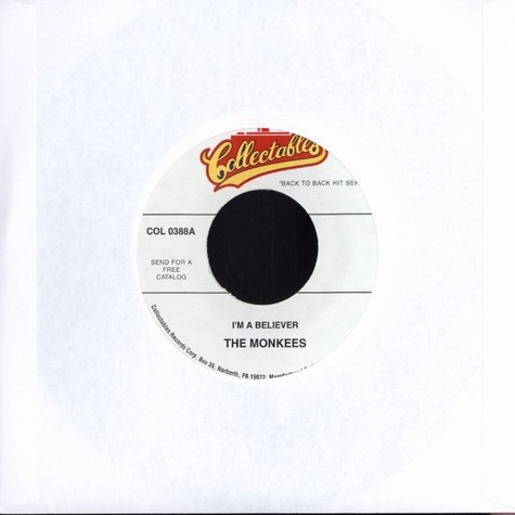 Monkees, The - I'm a believer