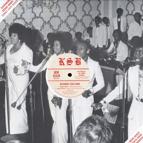 Kashmere Stage Band - Super strut Kenny Dope re-edit